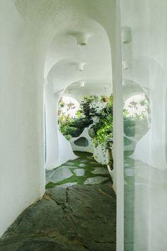luxury Garden room Garden Room by The White Room - Modern Organic Architecture, Beautiful Architecture, Interior Architecture, Interior And Exterior, Minimalist Architecture, Interior Garden, Interior Design, Bg Design, House Design