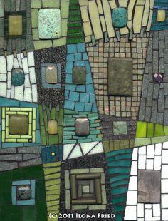 Mosaic Artists: Artwork Detail Display Idee voor een eenvoudig ontwerp?