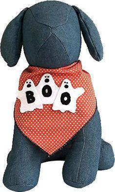 Tail Trends 3 Ghosts Dog Bandana, Medium - Chewy.com