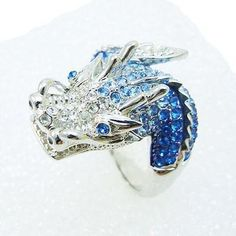 dragon ring | Swarovski Dragon Ring | My Style