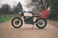 Moto-Mucci: DAILY INSPIRATION: Custom Honda CX500 by One Down Four Up