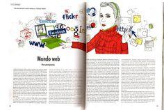 Revista De Punta Ilustration by Robertita Superstar www.robertita.com.ar