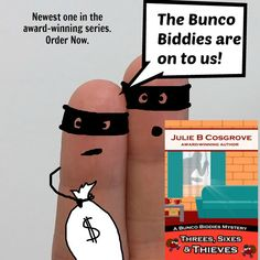 when thieves burgle homes in Sunset Acres, teh Bunco Bidides get caught up in the manhunt mayhem.