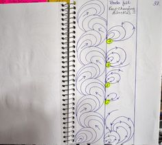 Sketch Book.....Border Designs ~ May Your Bobbin Always Be Full