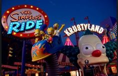 Universal Studios Hollywood - The Simpsons Ride
