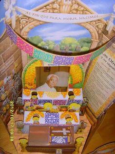 Altar en honor a mi querido y amado padre.