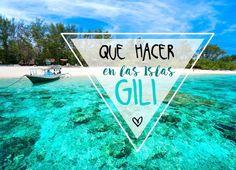 Qué hacer en las Islas Gili? En este artículo te lo contamos :)   #gili #indonesia