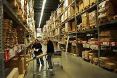 This is very cool, check it out... The IKEA Warehouse / http://www.dealextremedaily.com/?p=9116
