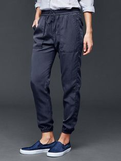 Tencel&#174 utility jogger Product Image  I have hear and they are great for work!