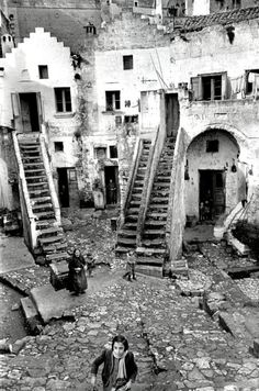 Matera Basilicata, Italy 1951by Henri Cartier-Bresson (there's something about a B photo. And of course HCB)