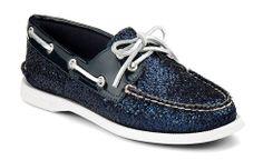 Sperry Top-sider Women's Authentic Original 2-Eye Glitter Boat Shoe