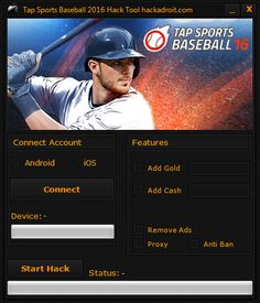 Here is what you searched - Tap Sports Baseball 2016 hack cheats. The 2017 version of Tap Sports Baseball 2016 hack cheats finally working.