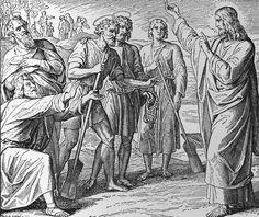 Bilder der Bibel - Jesu erste Jünger - Julius Schnorr von Carolsfeld