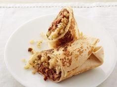 Get this all-star, easy-to-follow Cauliflower-Chorizo Burritos recipe from Marcela Valladolid