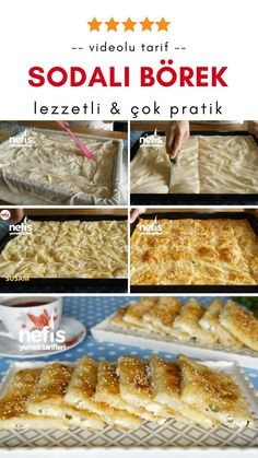 Soda Cheese Burrito Rezept (Video) in 5 Minuten gebacken - leckere Rezepte - Yemek Tarifleri - Resimli ve Videolu Yemek Tarifleri Pastry Recipes, Dessert Recipes, Desserts, Soup Appetizers, Arabic Food, Turkish Recipes, Snacks, Vegetable Dishes, Bread Baking