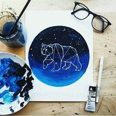 Watercolors oso