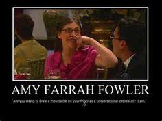 Amy Farrah Fowler...Big Bang Theory
