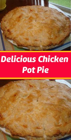 Delicious pot pie♥ Don't lose this delicious recipe, save it for later ♥ La Chicken, Chicken Meals, Yum Yum Chicken, Chicken Recipes, Easy Homemade Recipes, Easy Delicious Recipes, Sweet Recipes, Tasty, Yummy Food