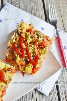 Z miłości do słodkości...: Pizza na grubym spodzie Hawaiian Pizza, Vegetable Pizza, Vegetables, Food, Essen, Vegetable Recipes, Meals, Yemek, Veggies