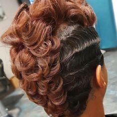 Waves and Curls by @nickeyg_herplacesalon - https://blackhairinformation.com/hairstyle-gallery/waves-curls-nickeyg_herplacesalon/