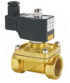 The solenoid valve is an electromagnetic part of a control valve. A solenoid valve is an electromechanically operated valve used for controlling liquid or gas flow.