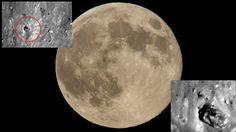 ¿La guerra de las galaxias? Encuentran un 'tanque' en la superficie de la Luna (FOTOS)