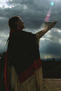 "Paula Bidwell ""Offering"" by nativetalismanart, via Flickr"
