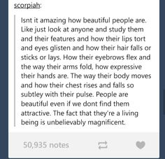 Beauty. Attractiveness is overrated.  -- hard to tell people you think this way when all they do is say you think someone's hot instead