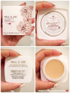 Paul & Joe Gel Foundation Review  Shade: 10  www.cappuccinosandbiscottis.com