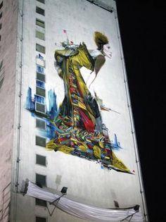Urban art shots: Steve Locatelli : Distorsion Urbana