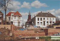 Restauratie stadsmuur, waterpoort nabij de Rodeheldenstraat. Datering: 2006. Nummer: 0690-5896
