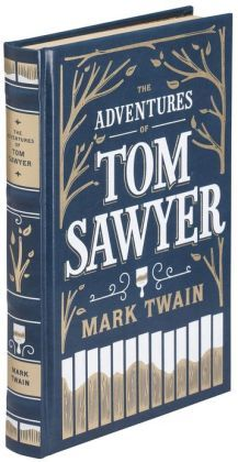 The Adventures of Tom Sawyer (Barnes & Noble Leatherbound Classics Series) #love #marktwain great to read to boys
