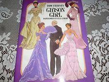 1985 Muñecas de papel muchacha de Gibson por Tom Tierney