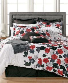 Rachelle 16-Pc. Reversible Queen Comforter Set | macys.com