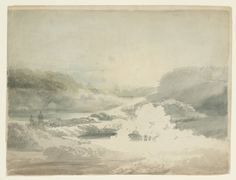 Artwork details Artist Joseph Mallord William Turner (1775‑1851) Title View over the Lake at Stourhead Date ?1798 Medium Graphite and watercolour on paper