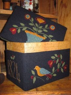 Nellie's Sewing Box by The Quilted Crow-Australia