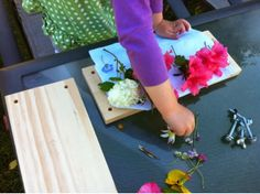 Just For Daisy:: DIY Flower Press - How to make your own flower press
