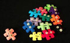 Broche puzzle