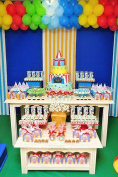 Festa de criança - tema Circo