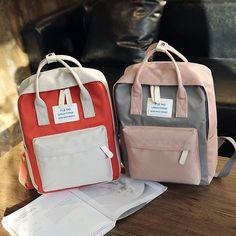 Harajuku Oxford Waterproof School Bags for Teenager Girls Casual Patchwork Laptop  Backpack Bags Women 2019 Large Travel Bag Sac 2982dc8ca1c01
