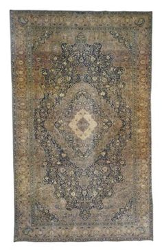 MOHTASHAM KASHAN CARPET  CENTRAL PERSIA, LAST QUARTER 19TH CENTURY  Approximately 22 ft. 7 in. x 13 ft. 9 in. (688 cm. x 419 cm.)