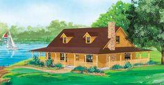 Savannah Home Plan - LogHome.com