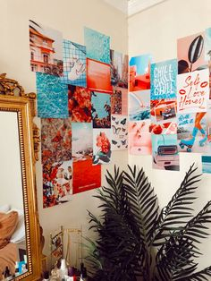 Cute Room Ideas, Cute Room Decor, Teen Room Decor, Room Ideas Bedroom, Bedroom Decor, Uni Bedroom, Bedroom Inspo, Dorm Room, Wall Collage Decor