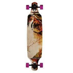 Never Summer Descent DT Longboard Skateboard Deck with Grip Tape $147.95 With Free Shipping at absboards.com