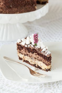 Tort Justyś (czekoladowy z kajmakiem i prażonym słonecznikiem) - Ci...