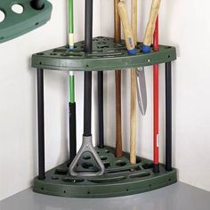 Easily store your lawn and garden equipment with the help of tool organizers from Wayfair. You can buy wall mounted or freestanding tool holders and more in our store. Receive free shipping on orders over $49!