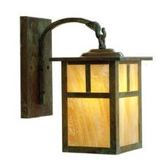 Mission 6 in. Outdoor Wall Sconce by Arroyo Craftsman