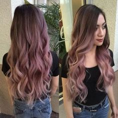 25 Pretty Chic Blonde Shades Ideas You Should Try Hair Dye Colors, Cool Hair Color, Brown Hair Colors, Cabelo Rose Gold, Long Pink Hair, Dye My Hair, Grunge Hair, Ombre Hair, Hair Looks