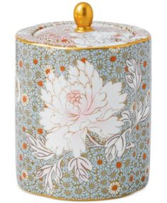 Wedgwood Daisy Tea Story Tea Caddy