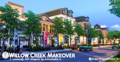 Willow Creek Makeover by Simsational Designs for The Sims 4